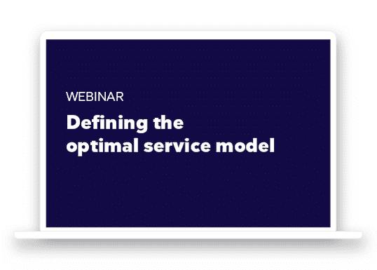 Webinar: Defining the Optimal Service Model for SMBs