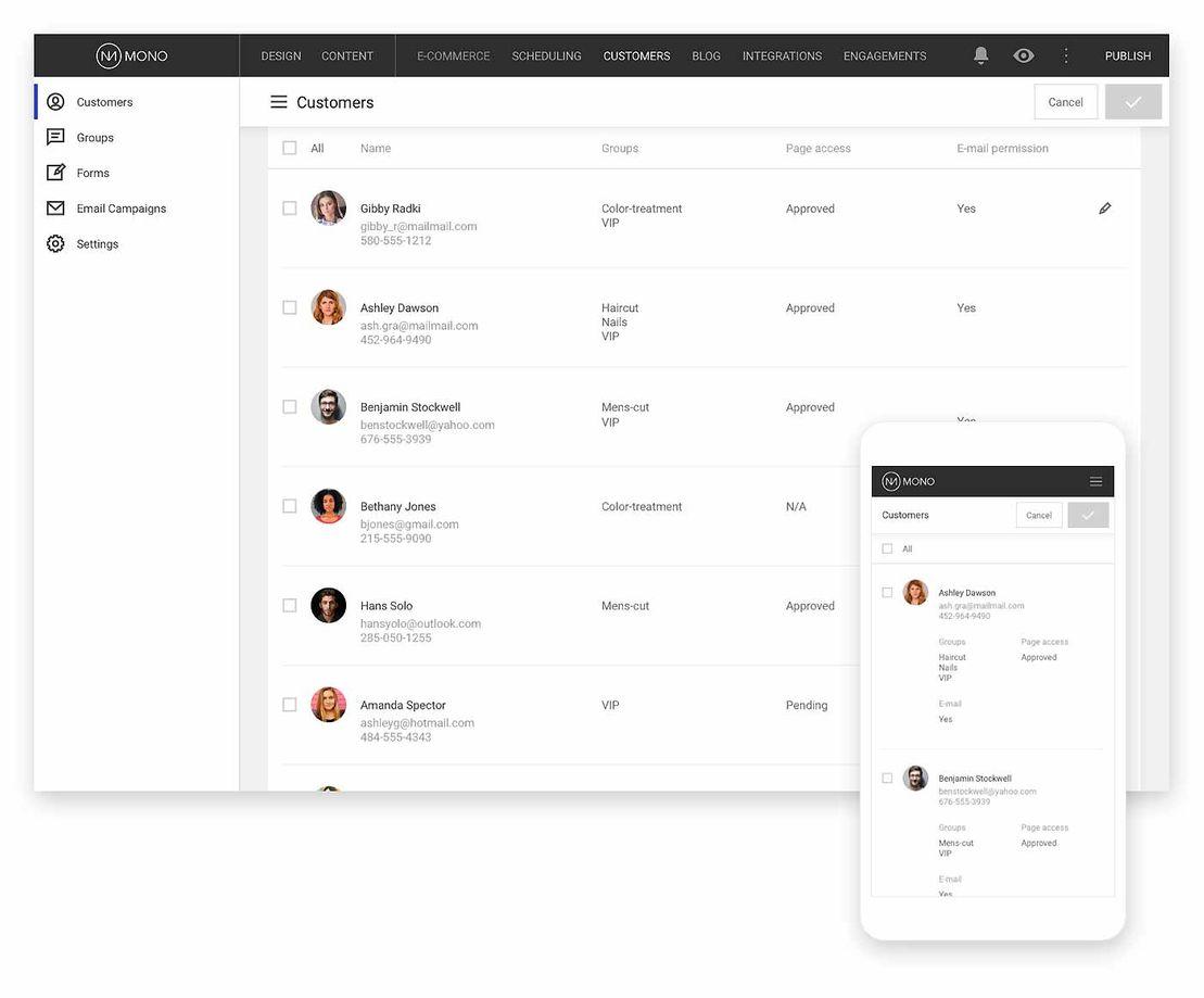 Platform | Mono Solutions
