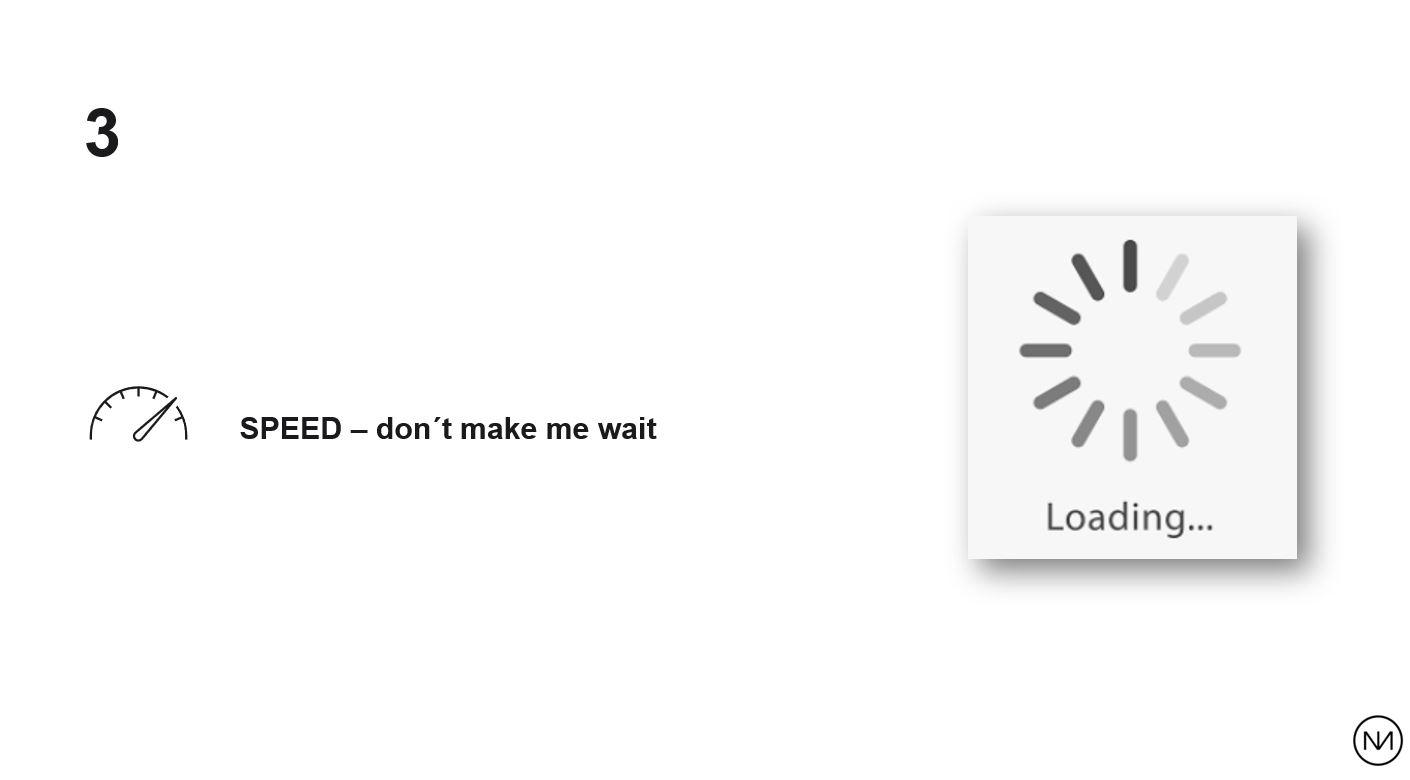 Don't make me wait